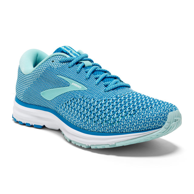 Brooks Lady Revel 2 in Blau Weiß