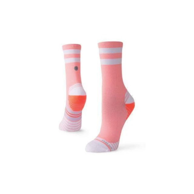 Stance Uncommon Solid Run Crew (Coral)