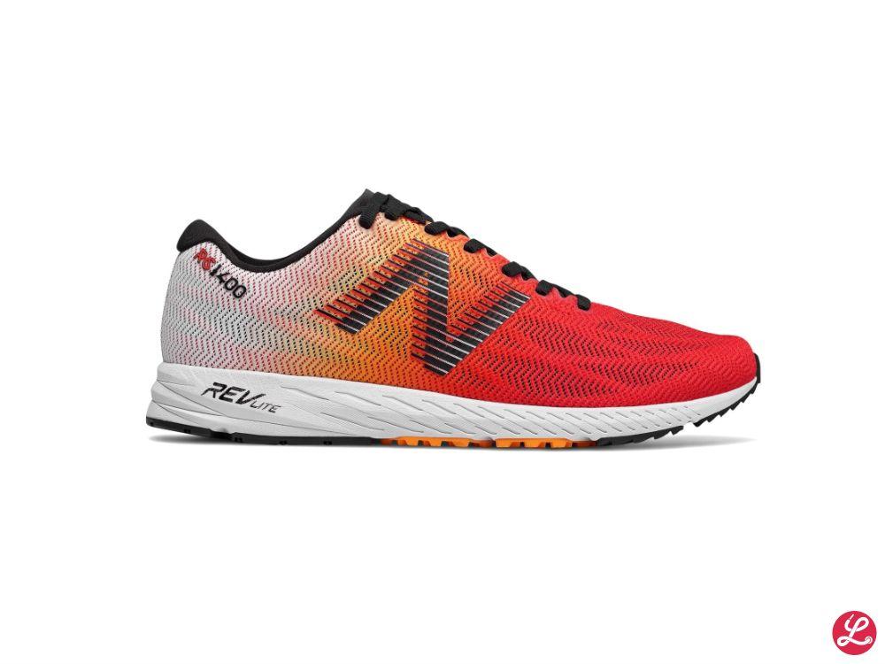 New Balance 1400v6 (Weiß Orange)