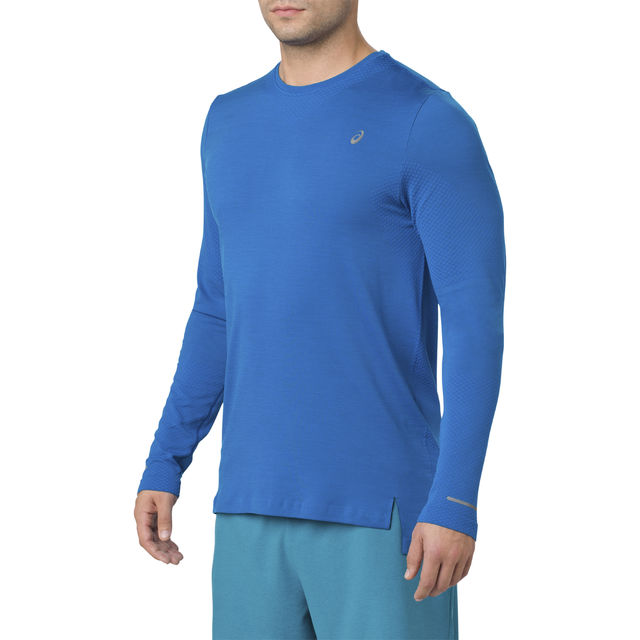 Asics Seamless LS in Blau