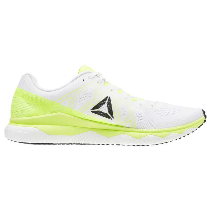 Reebok Floatride Run Fast in Grün Weiß