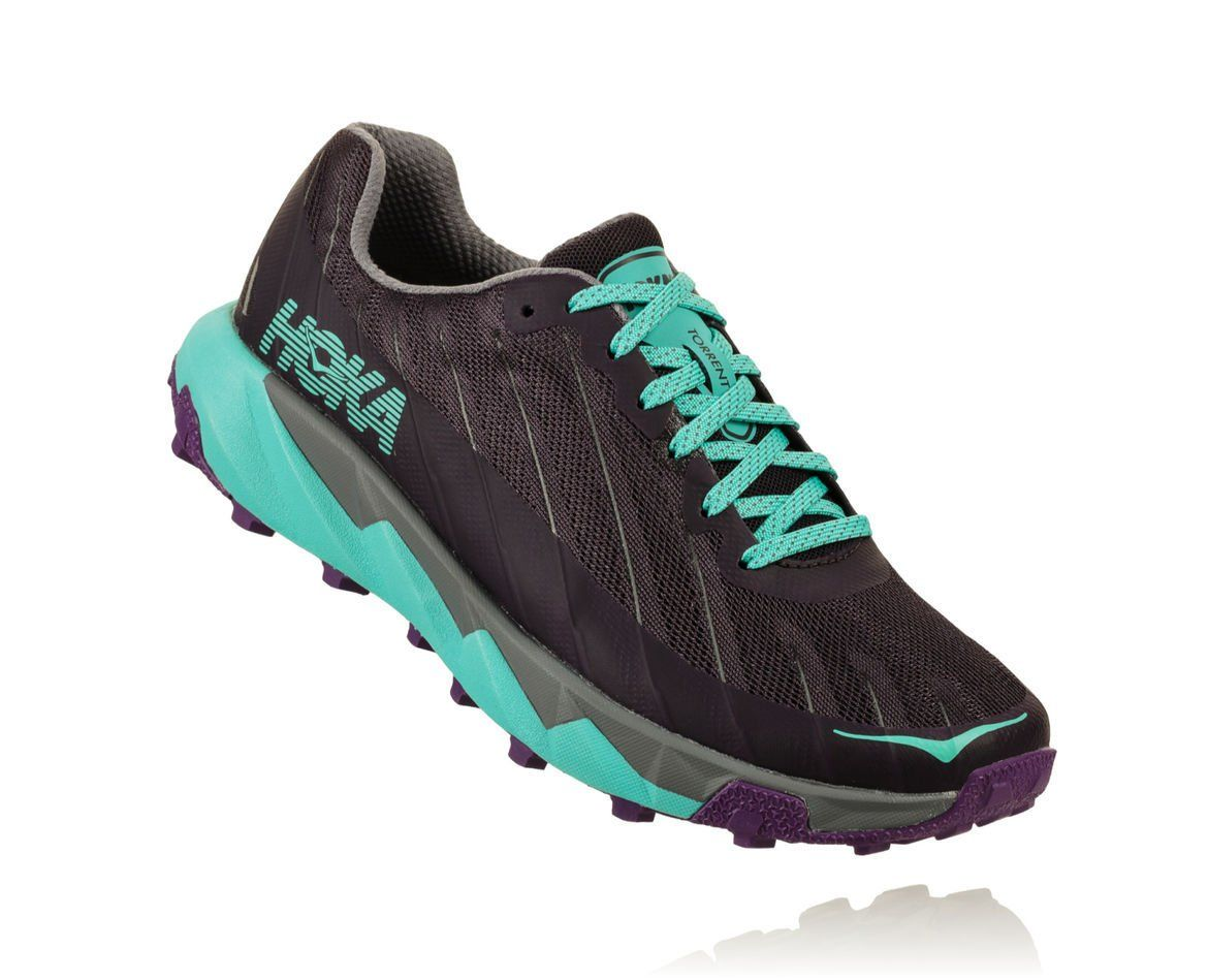 Hoka One One Lady Torrent (Nine Iron Steel Grey)