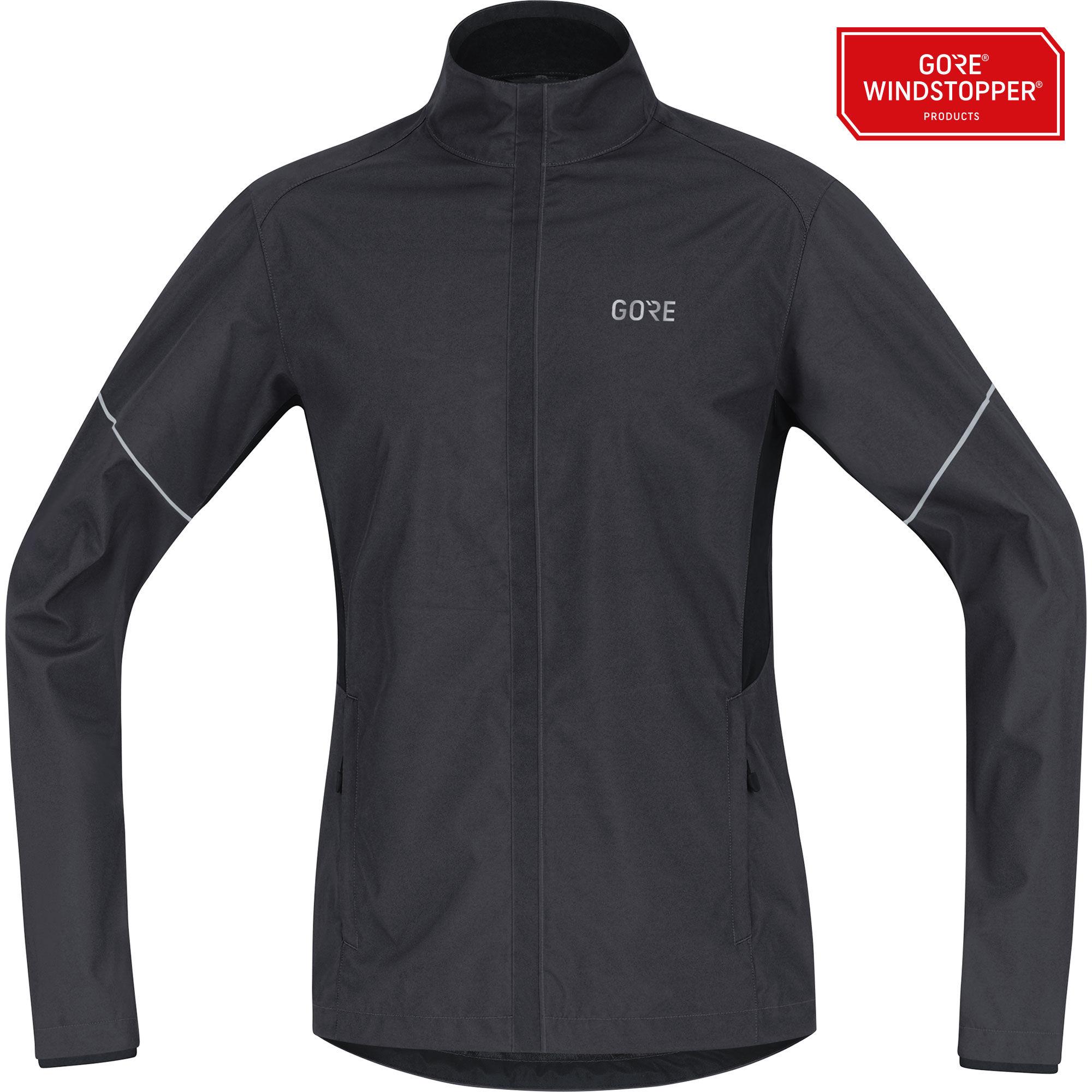 Gore R3 Partial GWS Jacket in Schwarz