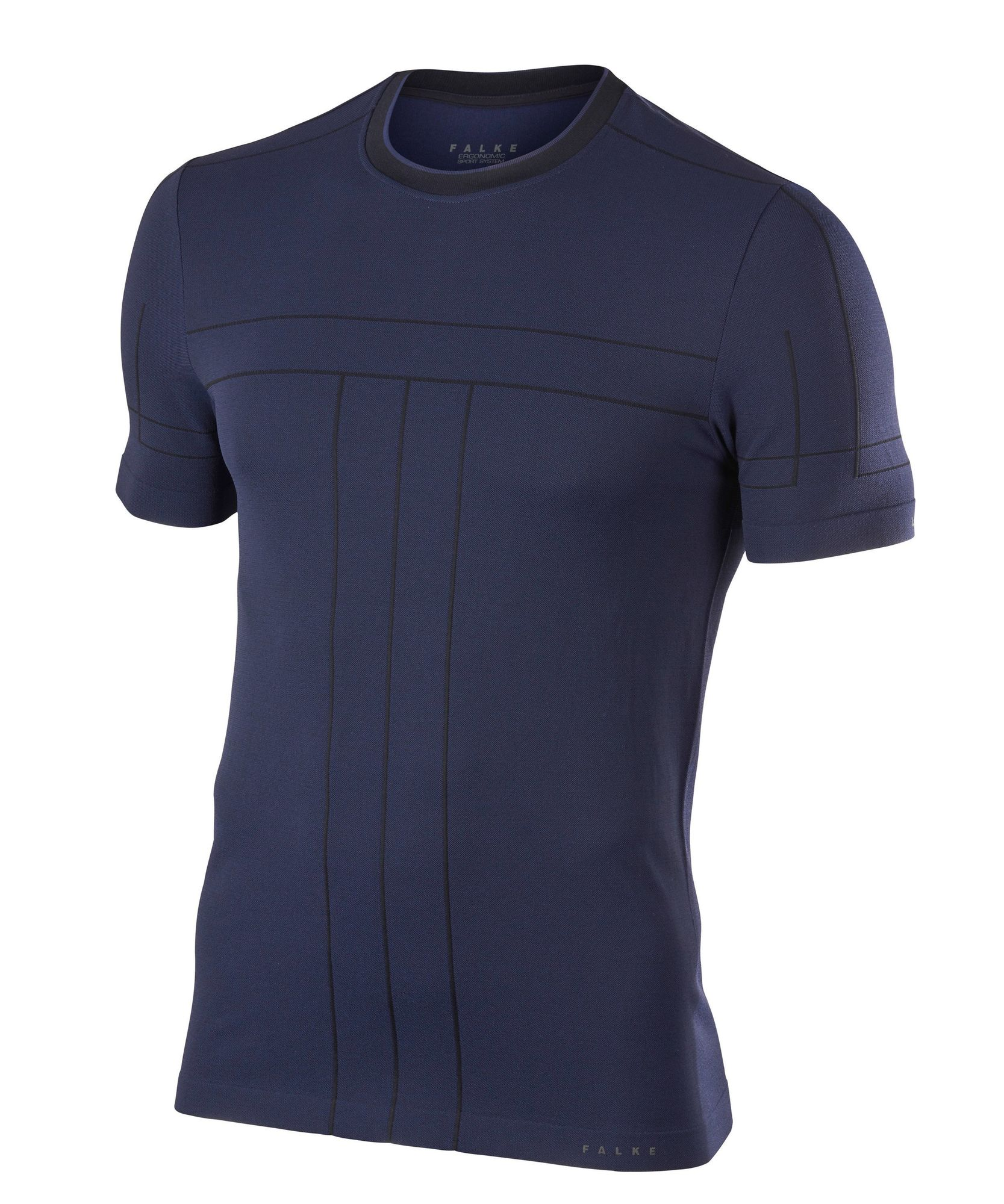 Falke Basic Shirt in Dunkelblau