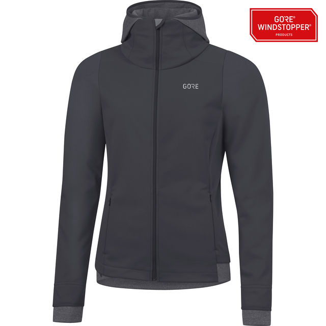 Gore R3 Lady GWS Thermo Hoodie in Terra Grey