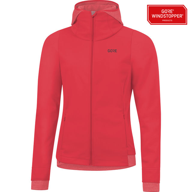 Gore R3 Lady GWS Thermo Hoodie in Hibiscus Pink
