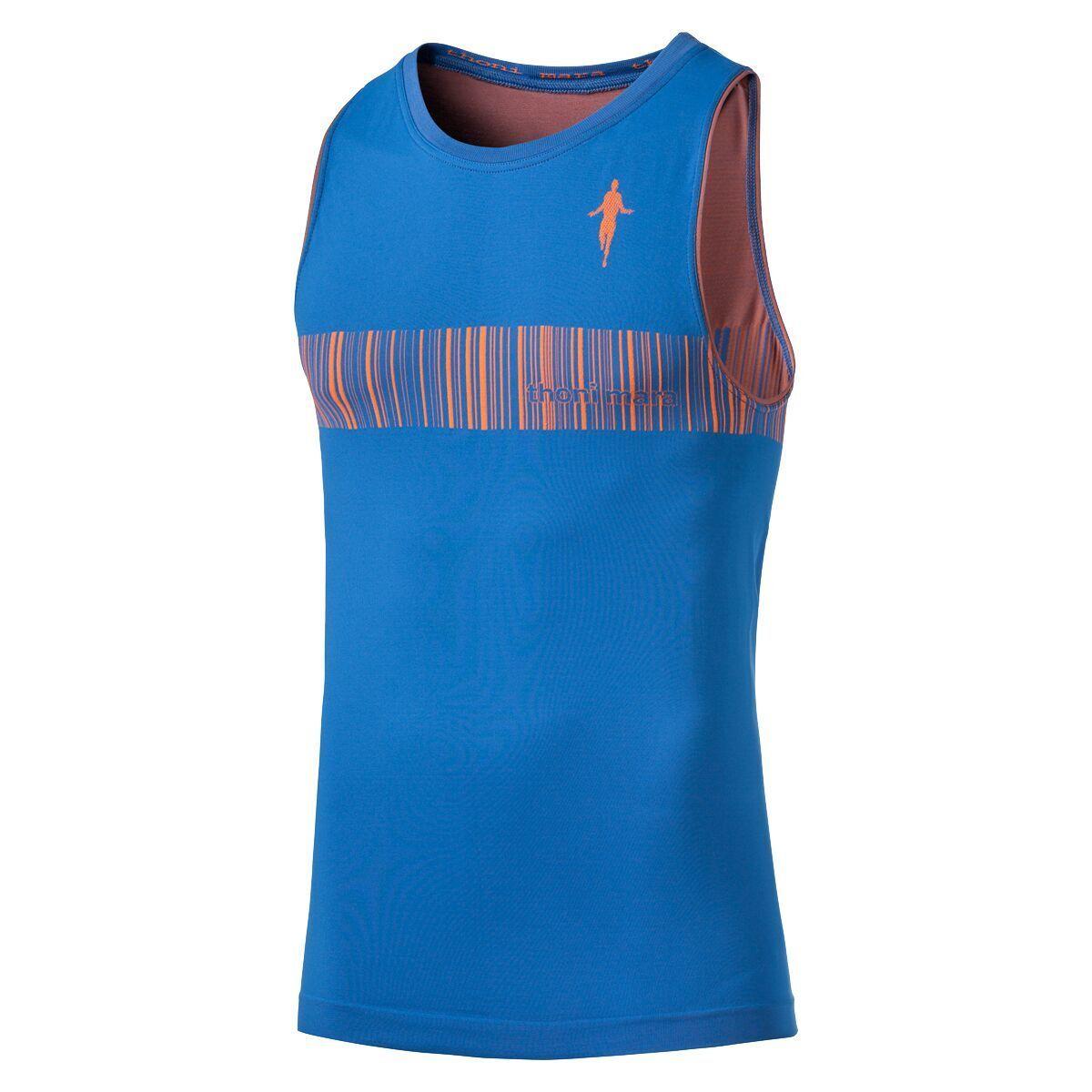 Thonimara Sommer OA Shirt EAN in Blau Orange