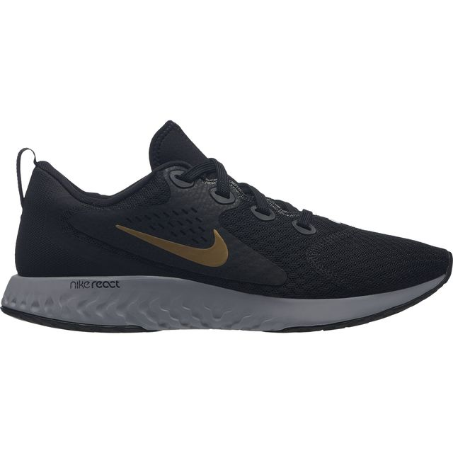 Nike Lady Legend React (Schwarz Gold Grau)