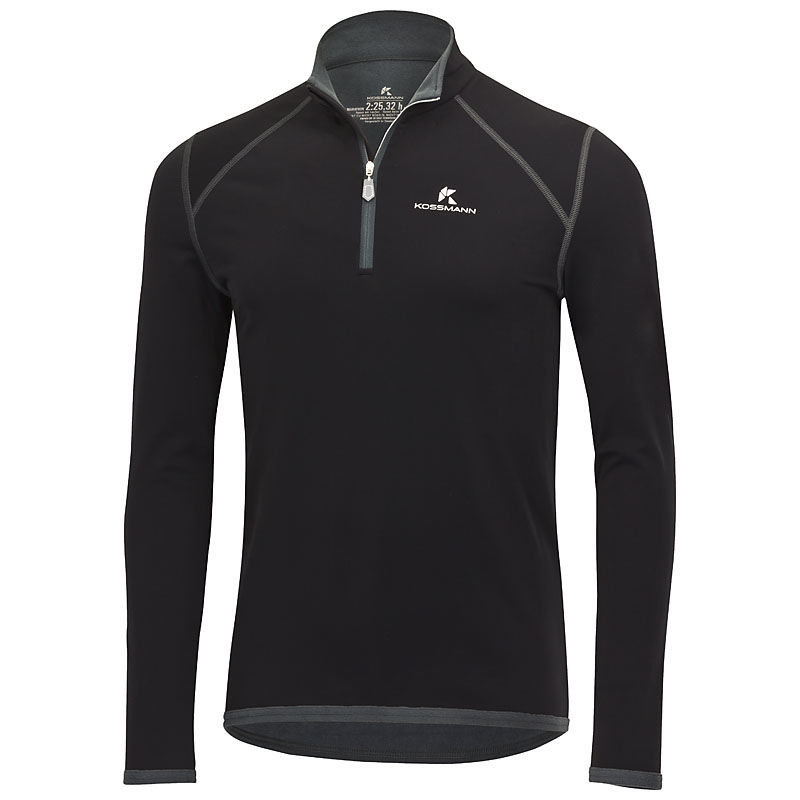 Kossmann Arctic Top in Schwarz