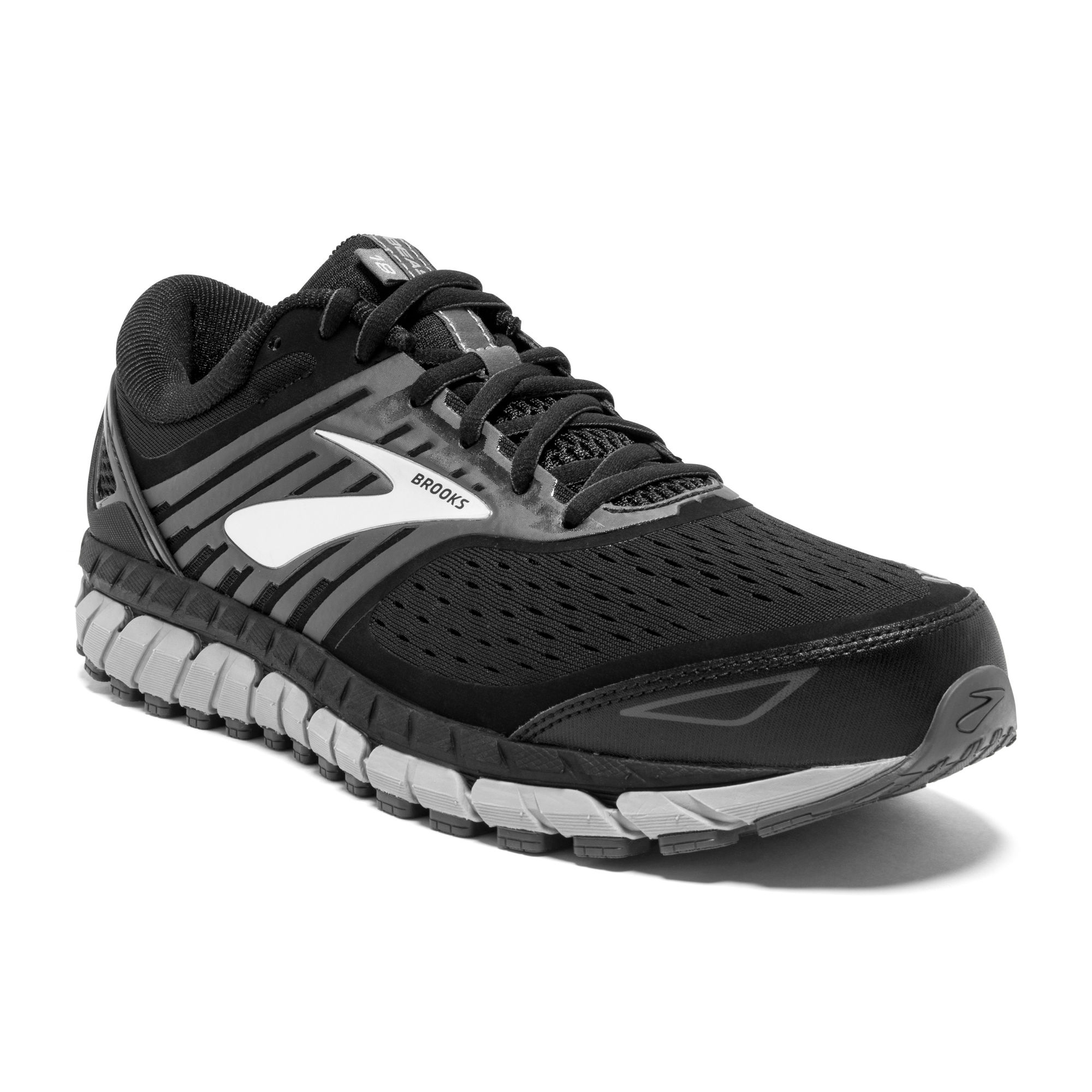 Brooks Beast 18 D in Schwarz Grau