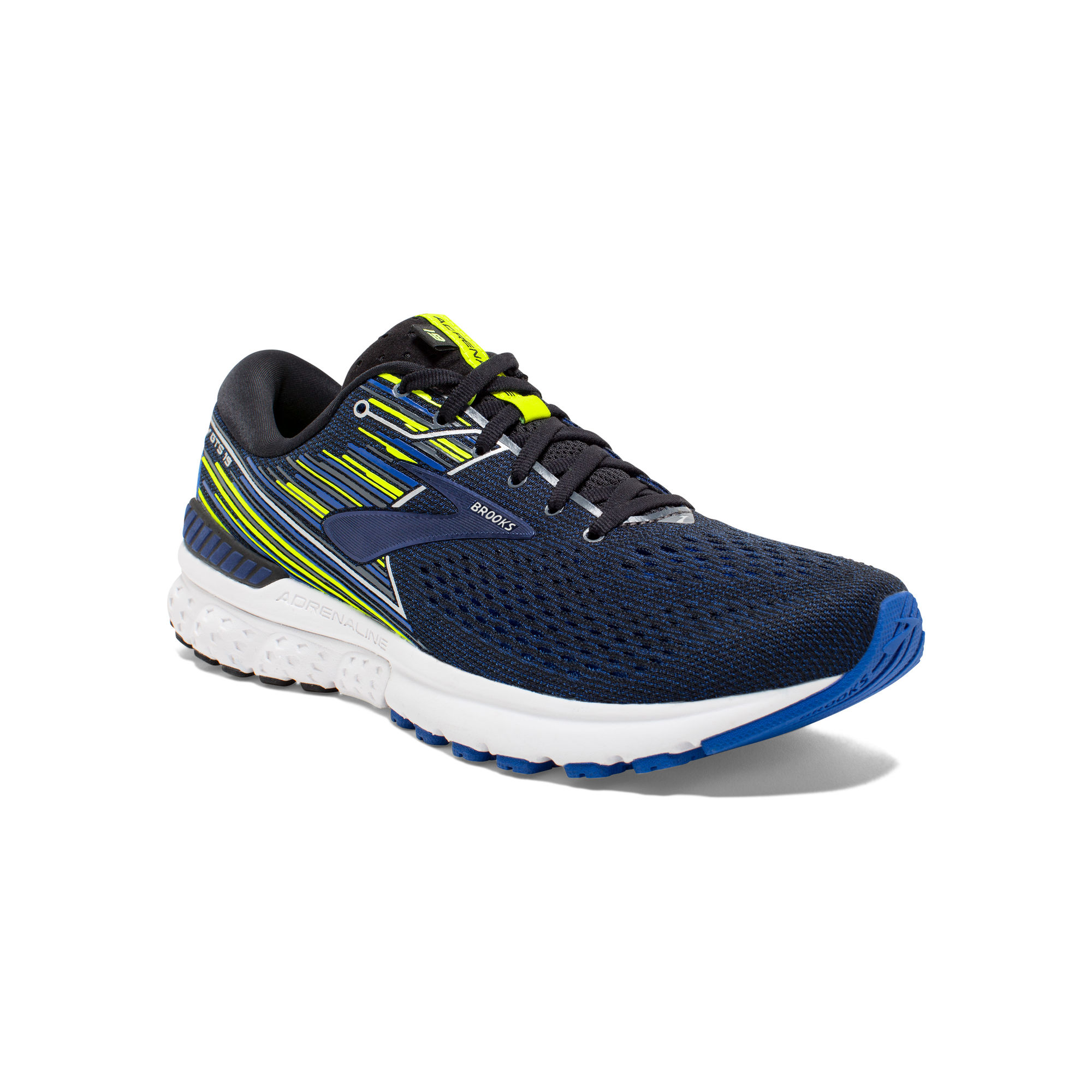 Brooks Adrenaline 19 D in Blau Schwarz