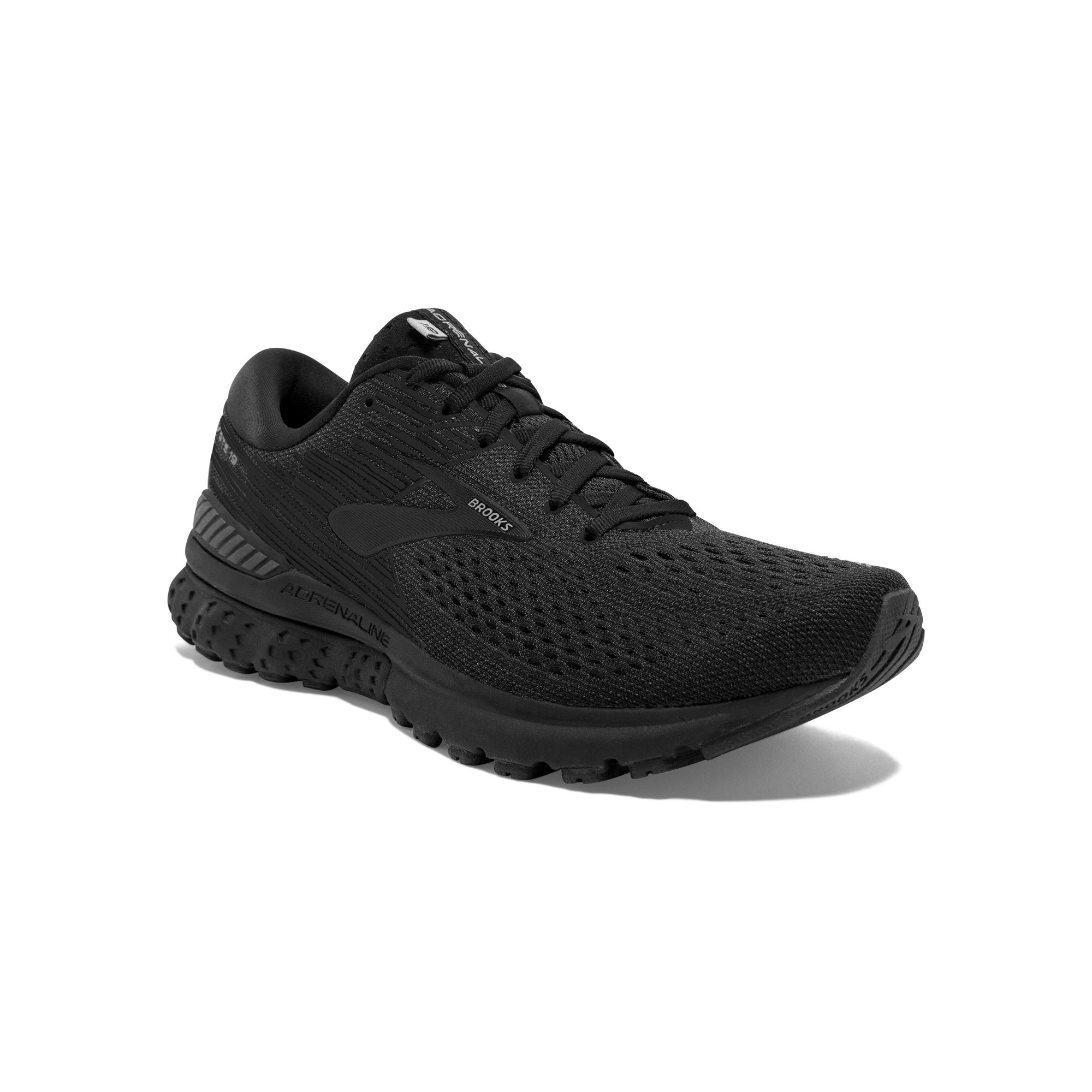 Brooks Lady Adrenaline 19 B Black in Schwarz