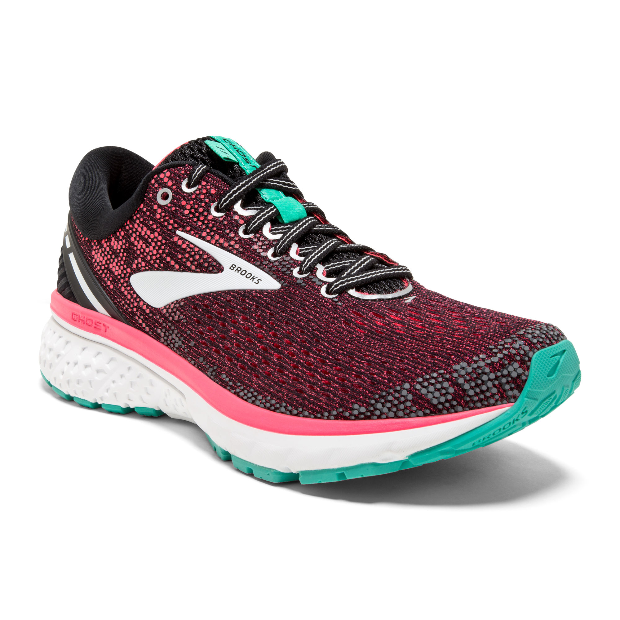 Brooks Lady Ghost 11 in Pink Türkis