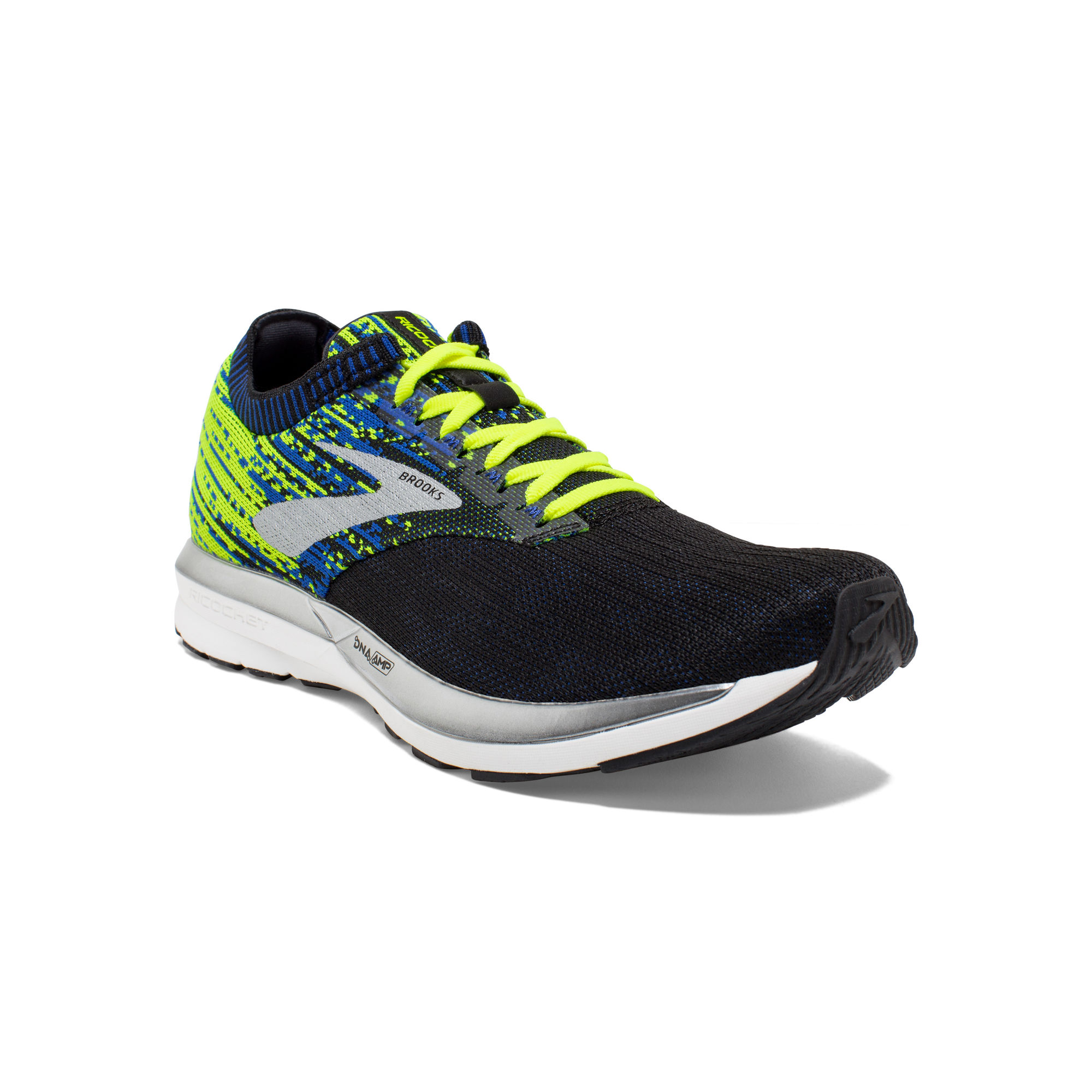 Brooks Ricochet in Blau Gelb