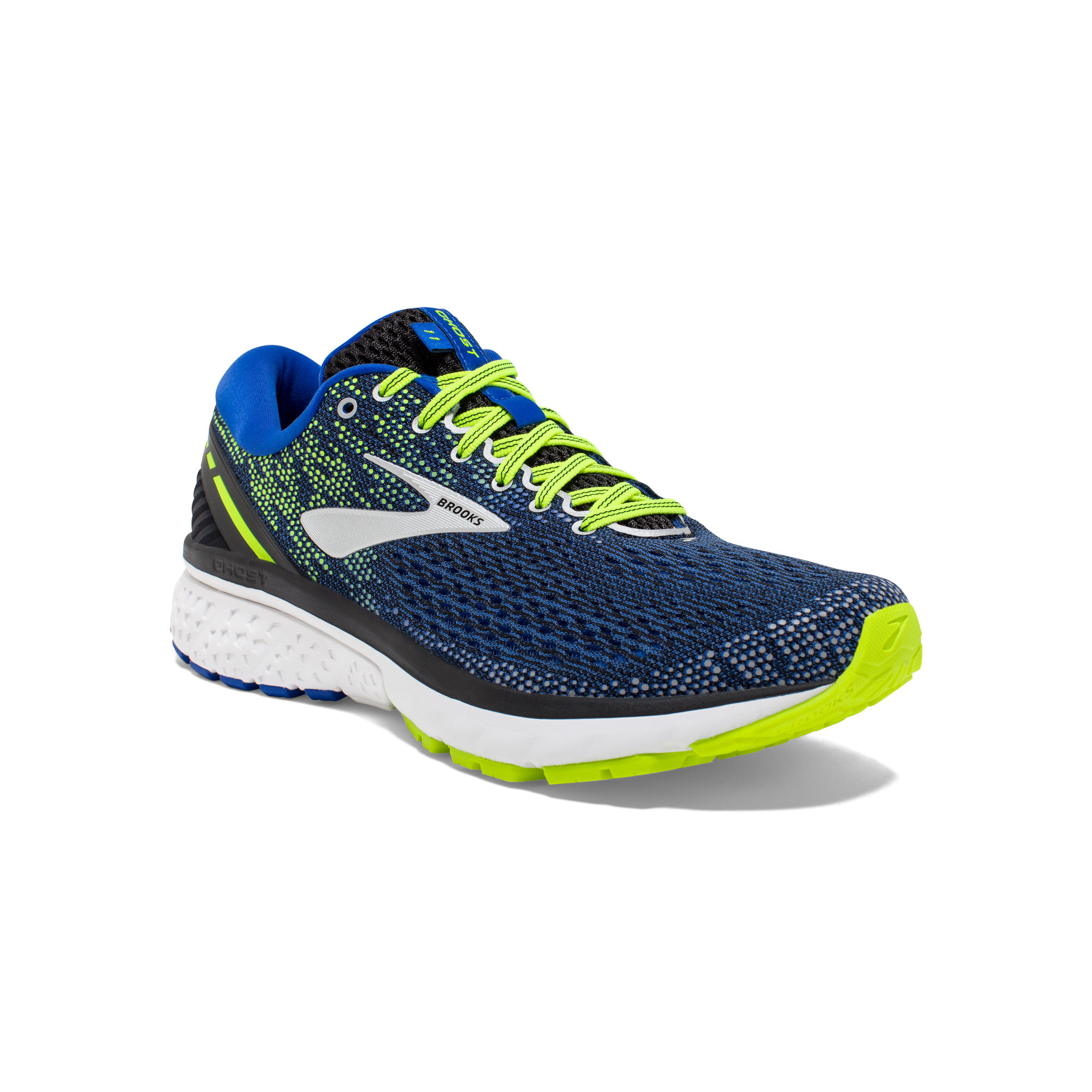 Brooks Ghost 11 in Blau Gelb