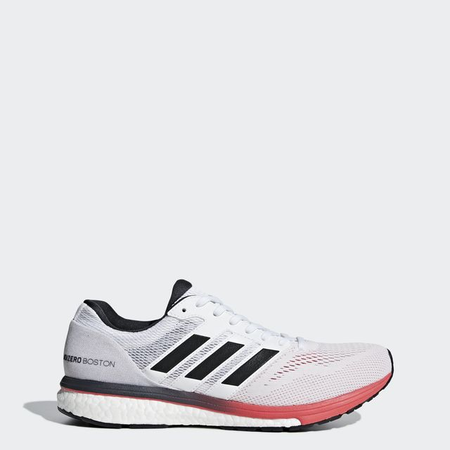 adidas adizero Boston 7 in Weiß