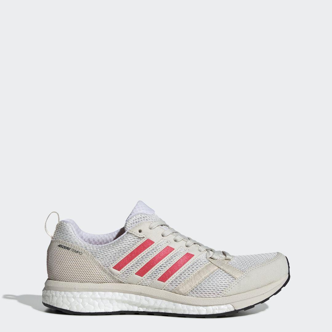 adidas adizero Tempo 9 w in Weiß