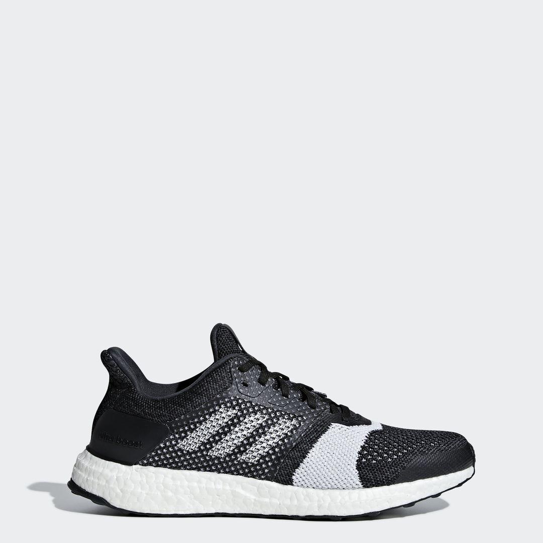 adidas UltraBOOST ST in Schwarz Weiß
