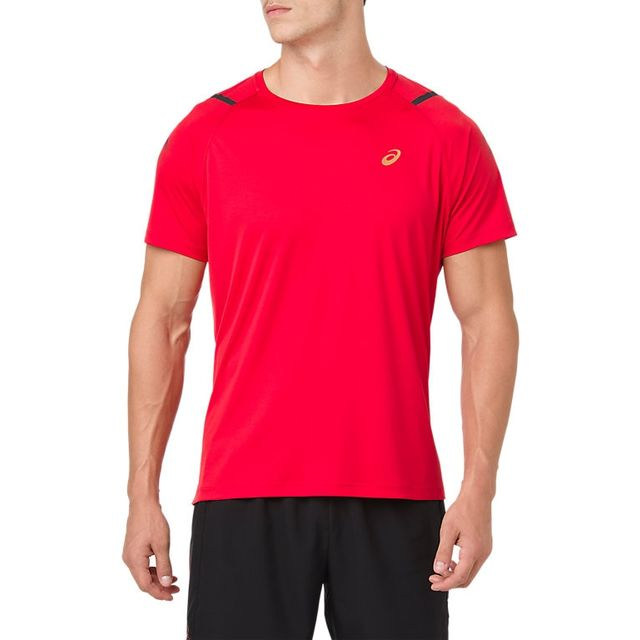 Asics Icon SS Top in Rot