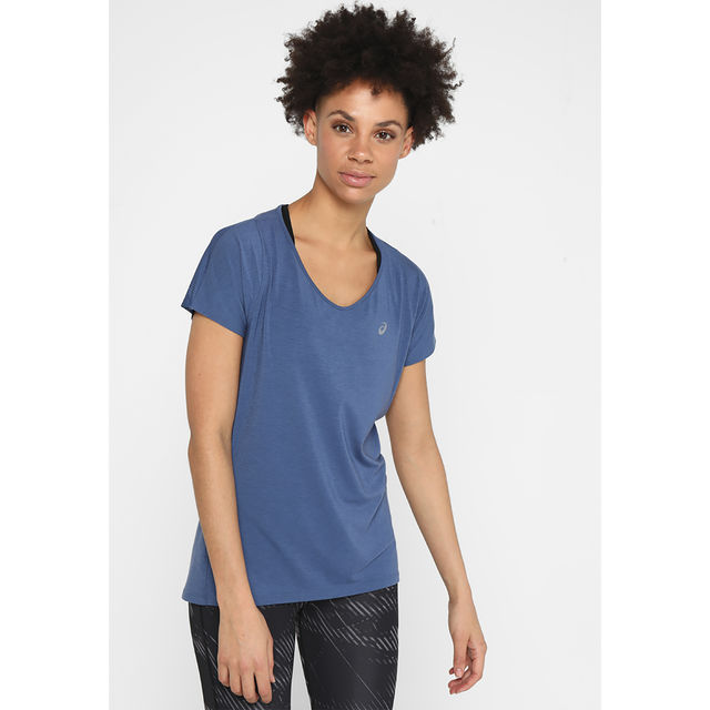 Asics Lady V-Neck SS Top