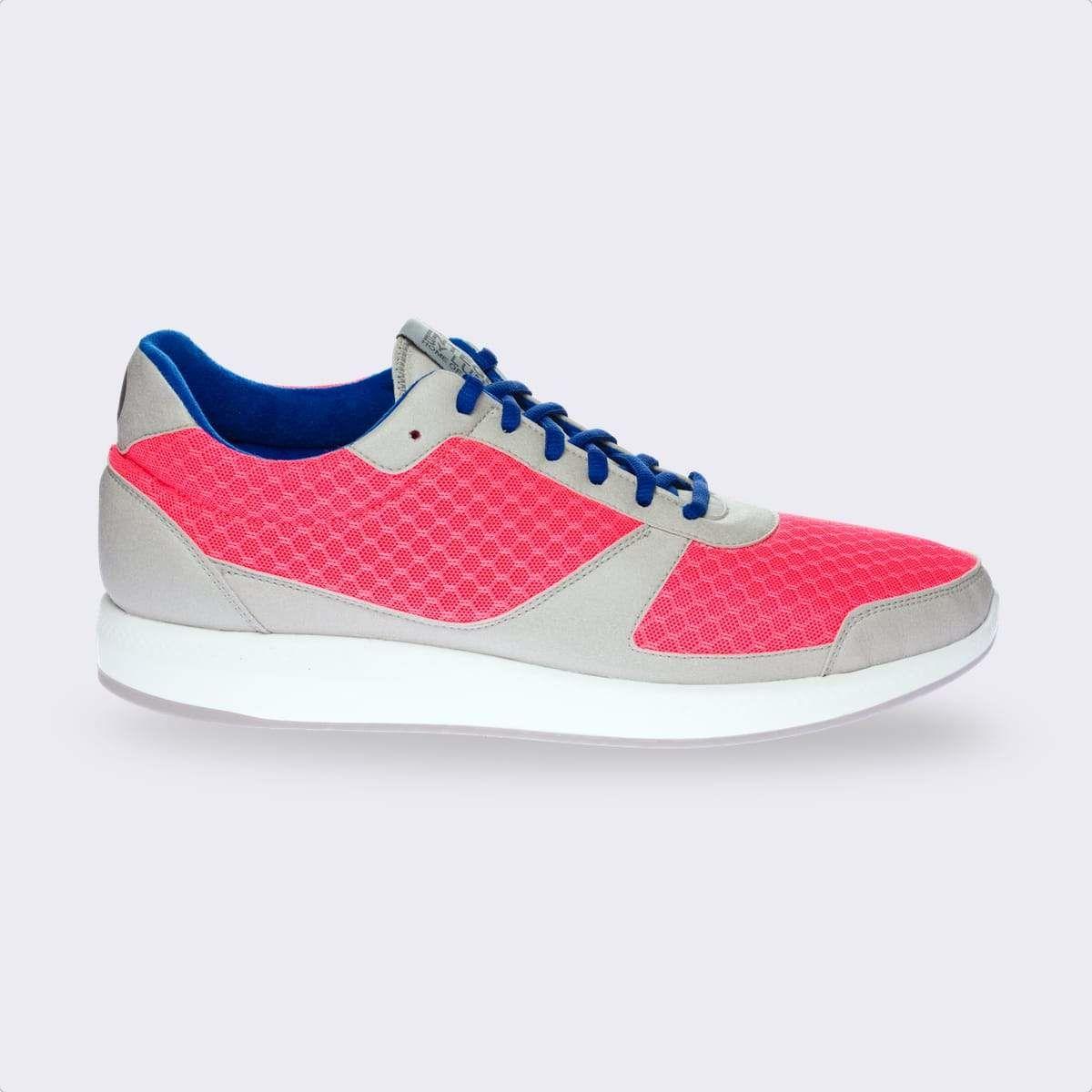Lunge Damen Integer Run Rebound (Pink Grau Weiß)