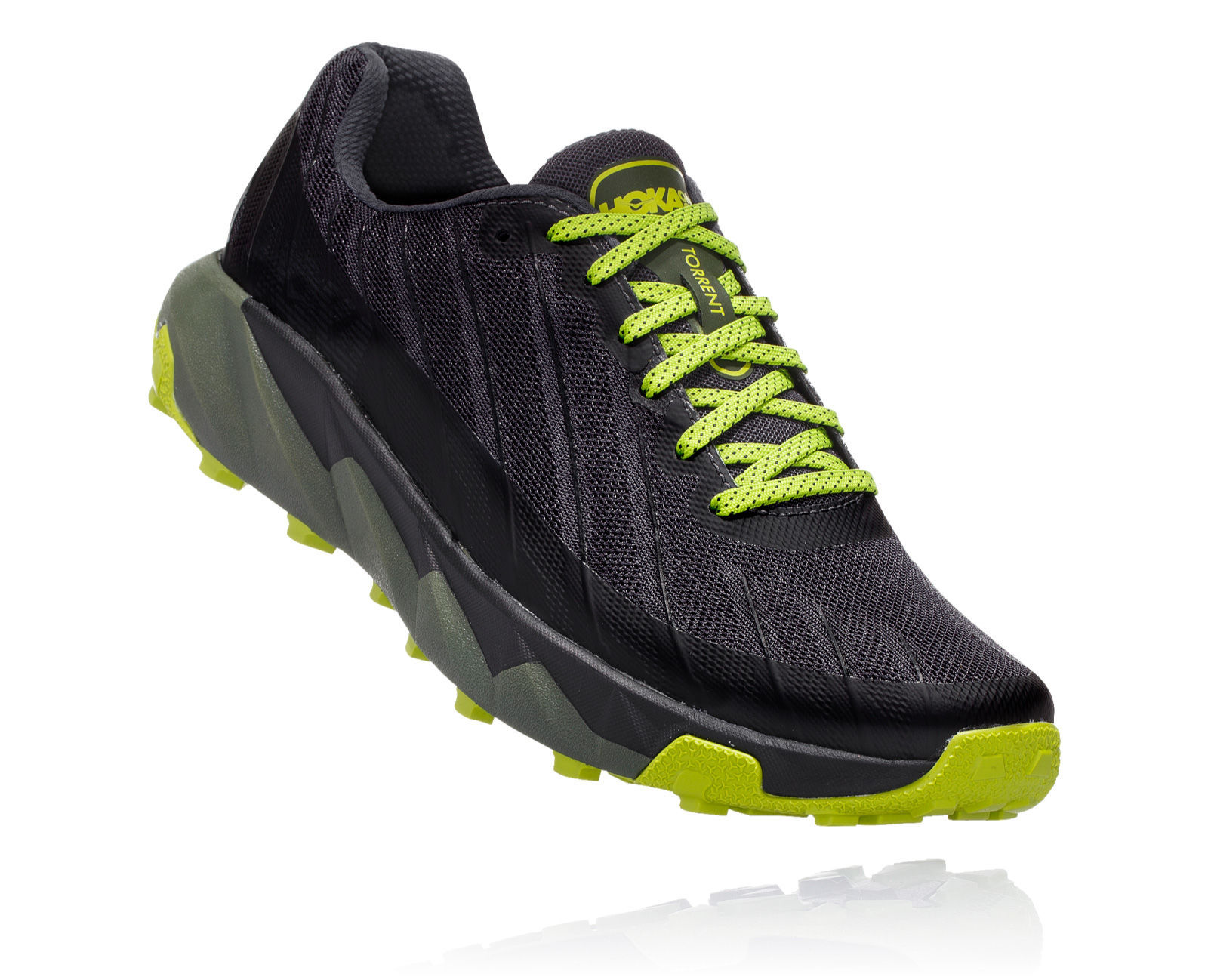 Hoka One One Torrent (Schwarz Grün)