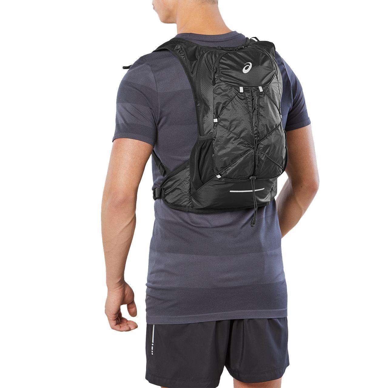 Asics Lightweight Running Backpack (Black)