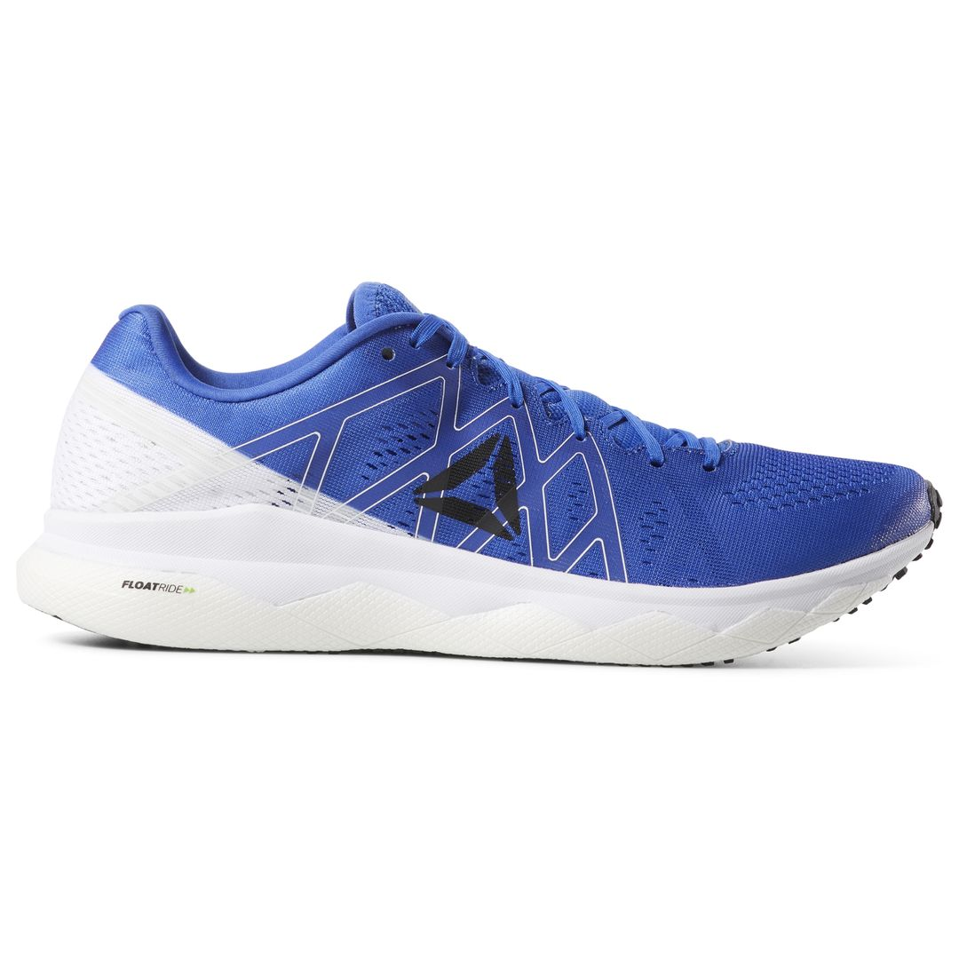 Reebok Floatride Run Fast in Weiß Blau