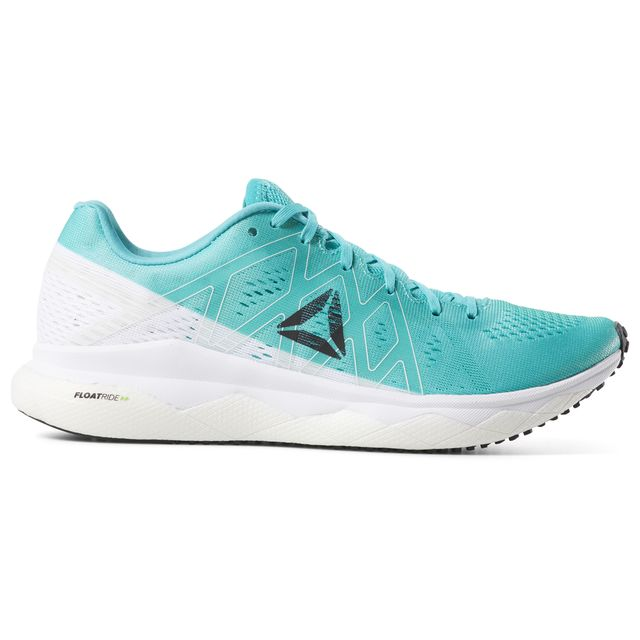Reebok Lady Floatride Run Fast in Weiß Türkis