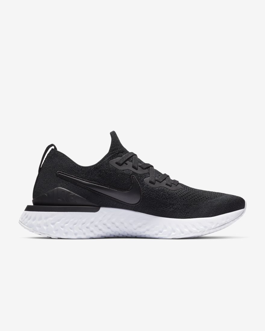 Nike Lady Epic React Flyknit 2 in Schwarz