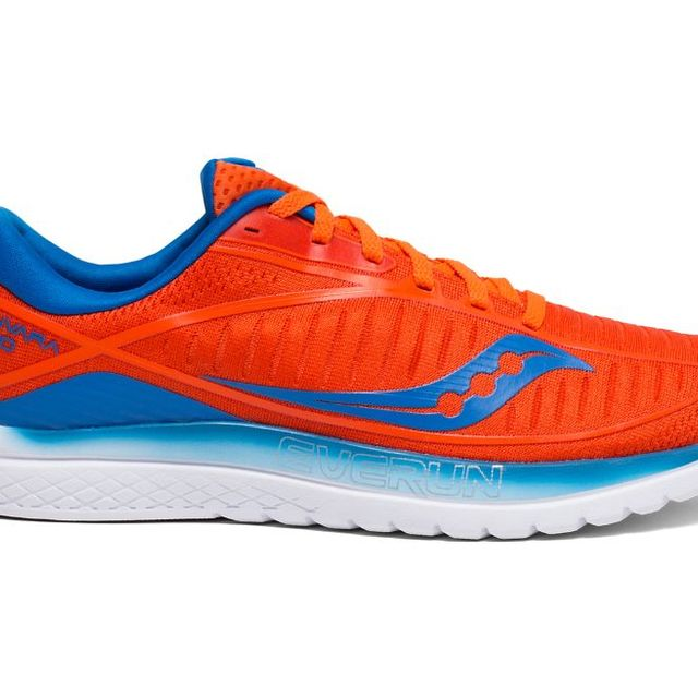 Saucony Kinvara 10 (Orange Blau)