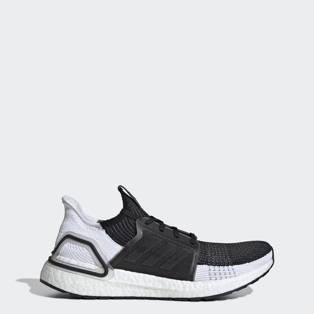 adidas UltraBoost 19 in Schwarz Weiß