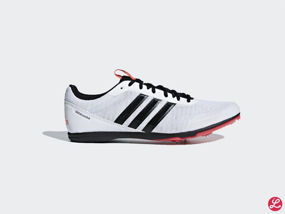 adidas Distancestar (Weiß Rot Schwarz)