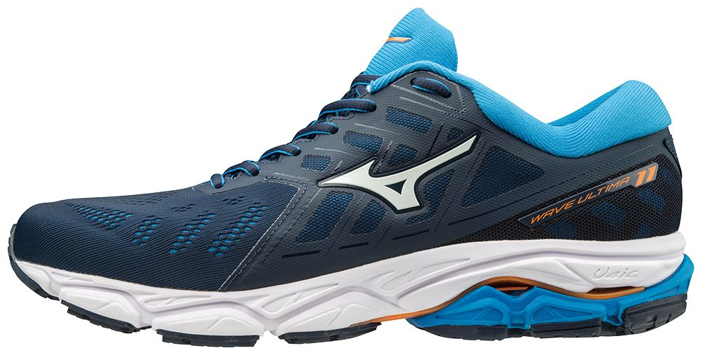 Mizuno Wave Ultima 11 in Blau