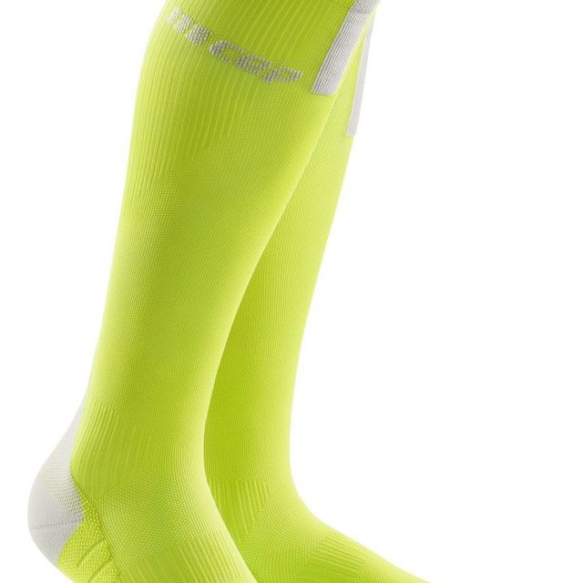 cep Run Compression Socks 3.0 in Grün Gelb