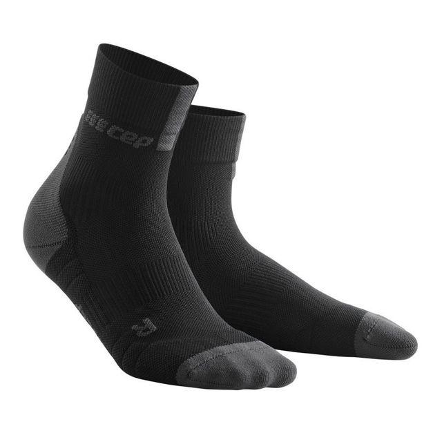 cep Compression Short Socks 3.0 (Schwarz)