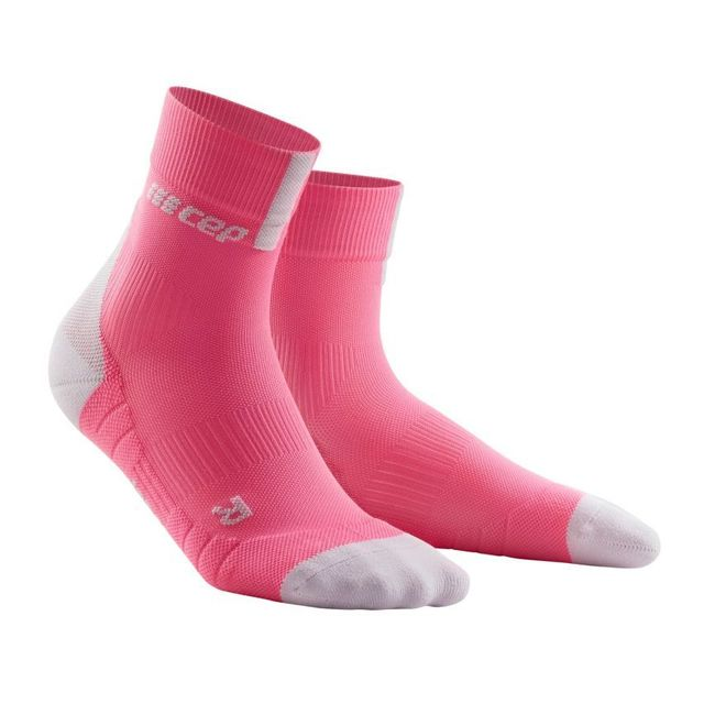 cep Women Compression Short Socks 3.0 (Pink)