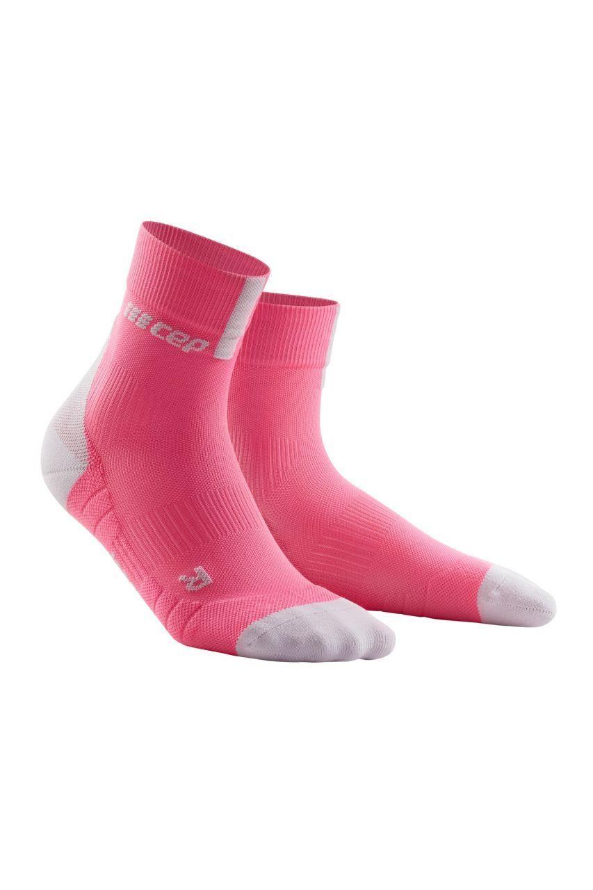cep Women Compression Short Socks 3.0 in Pink