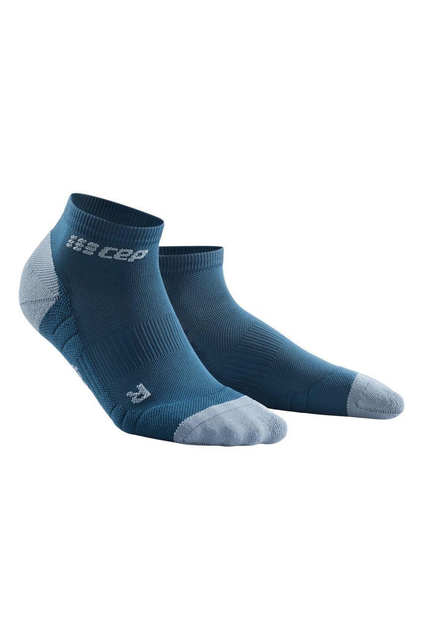 cep Compression Low Cut Socks 3.0 in Blau Grau