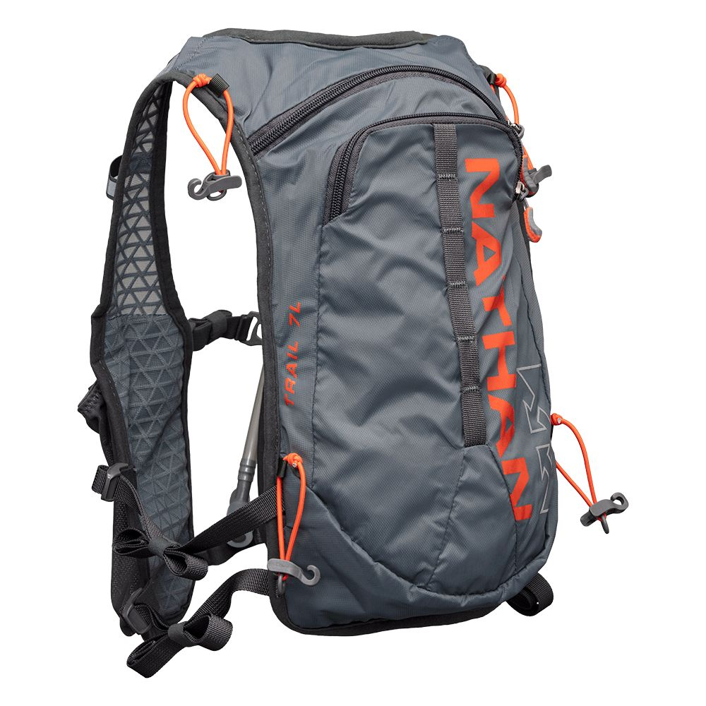 Nathan Trail-Mix 7L (Grau Orange)