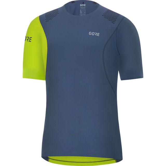 Gore R7 Shirt in Blau Grün