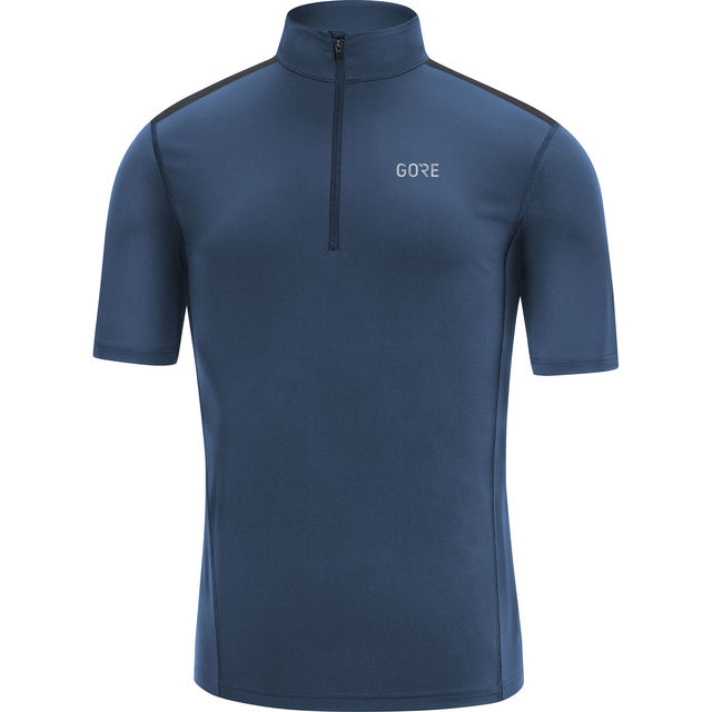 Gore R5 Zip Shirt in Blau