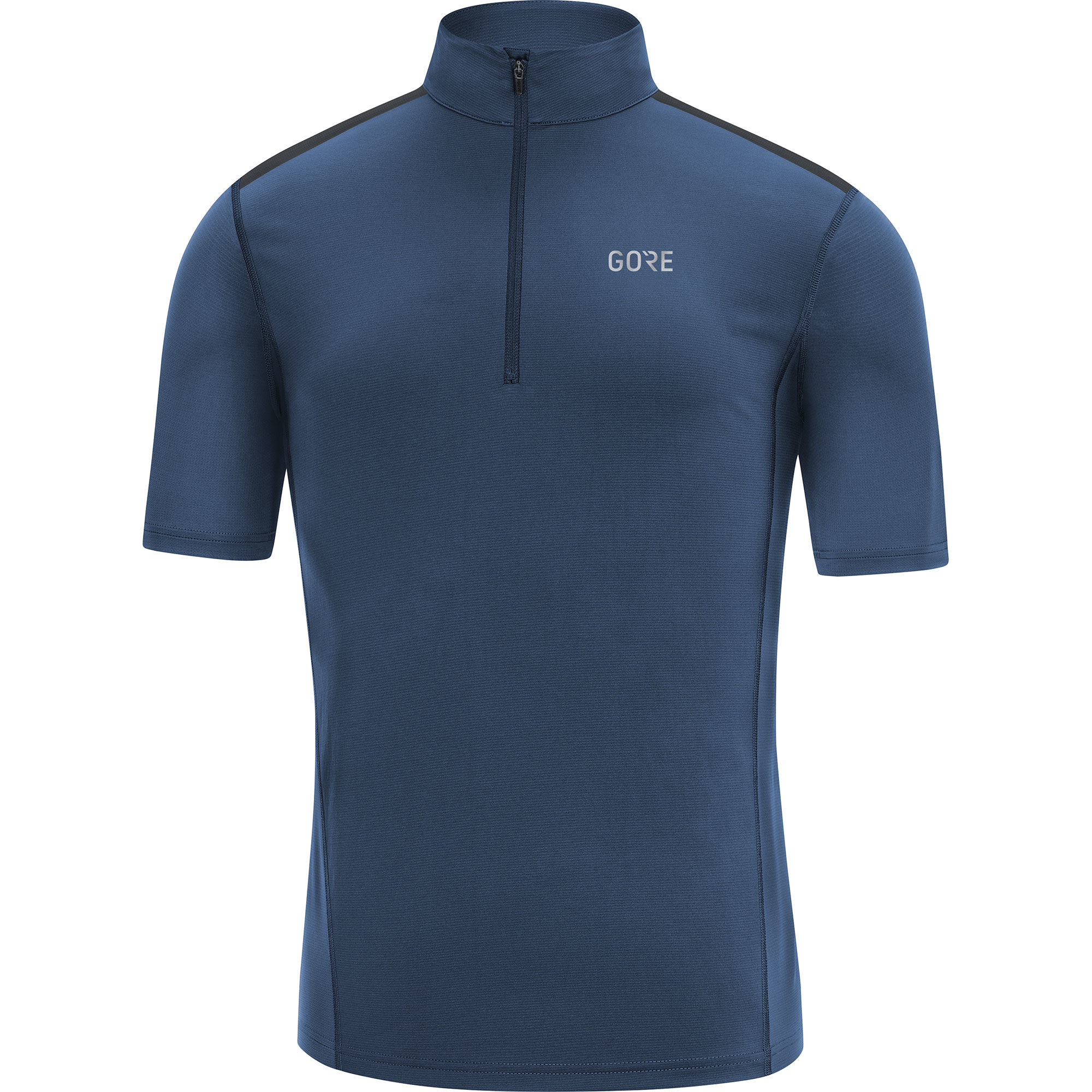 Gore R5 Zip Shirt in Blau