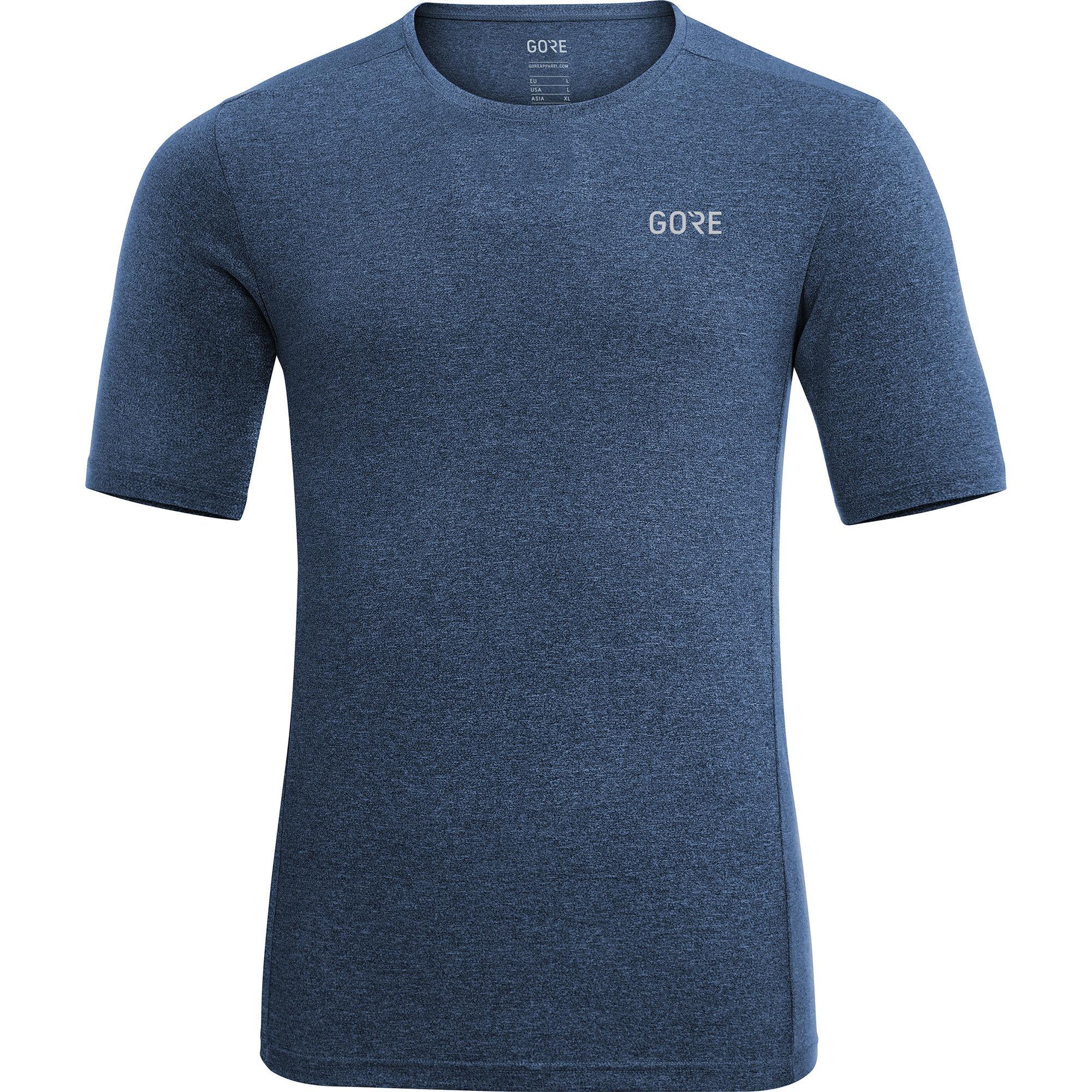 Gore R3 Shirt Melange in Blau