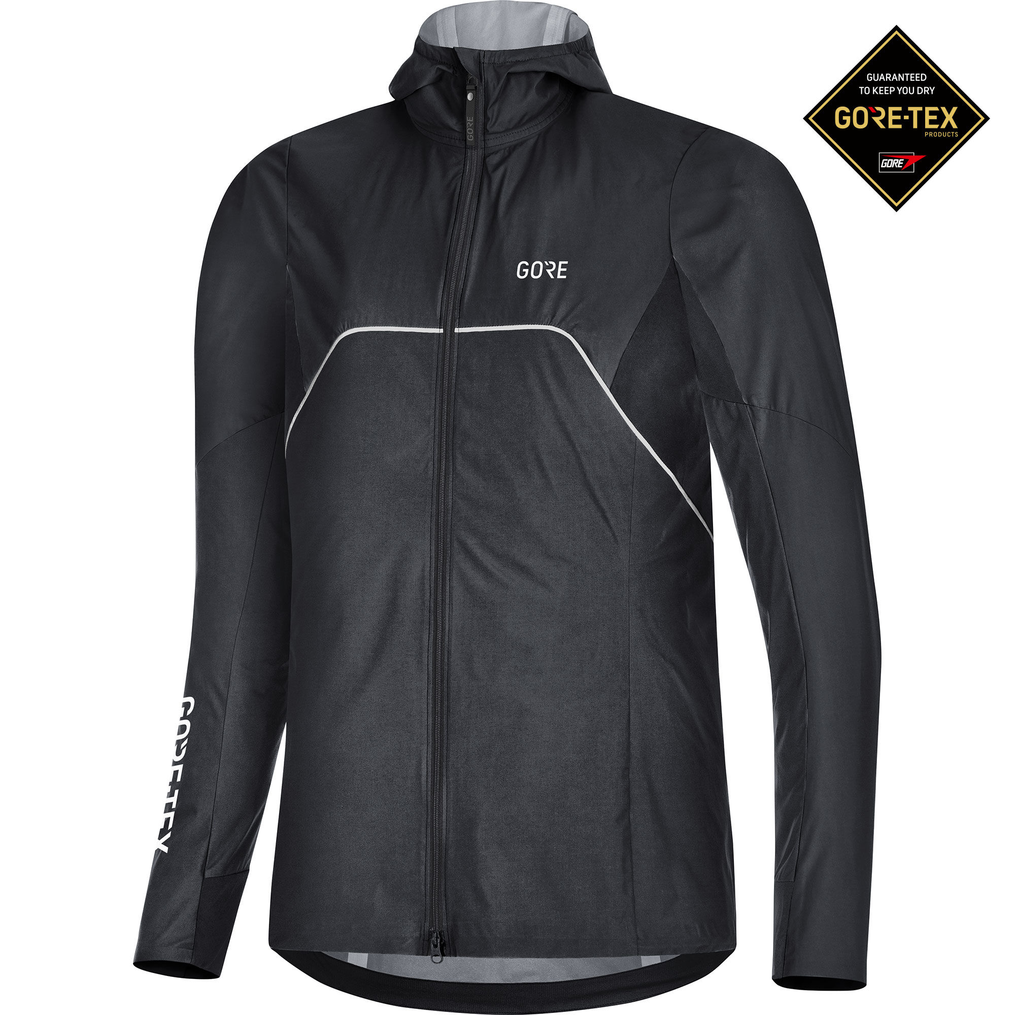 Gore Lady R7 GTX Shakedry Trail Jacket (Black)