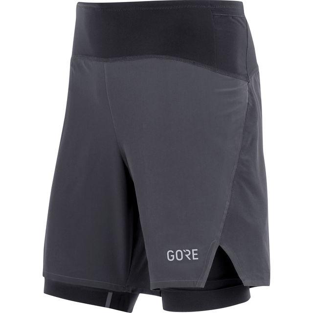 Gore R7 2in1 Shorts (Schwarz)