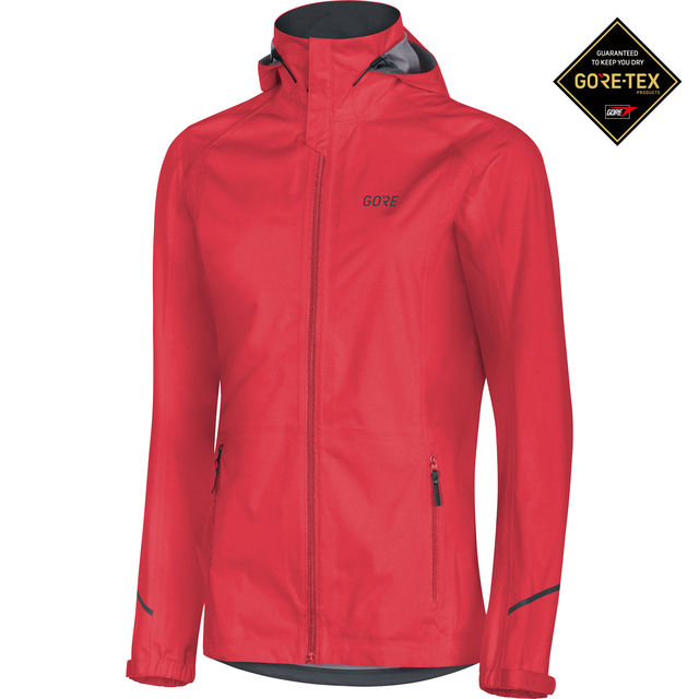 Gore R3 Lady GTX Active Kapuzenjacke in Rot