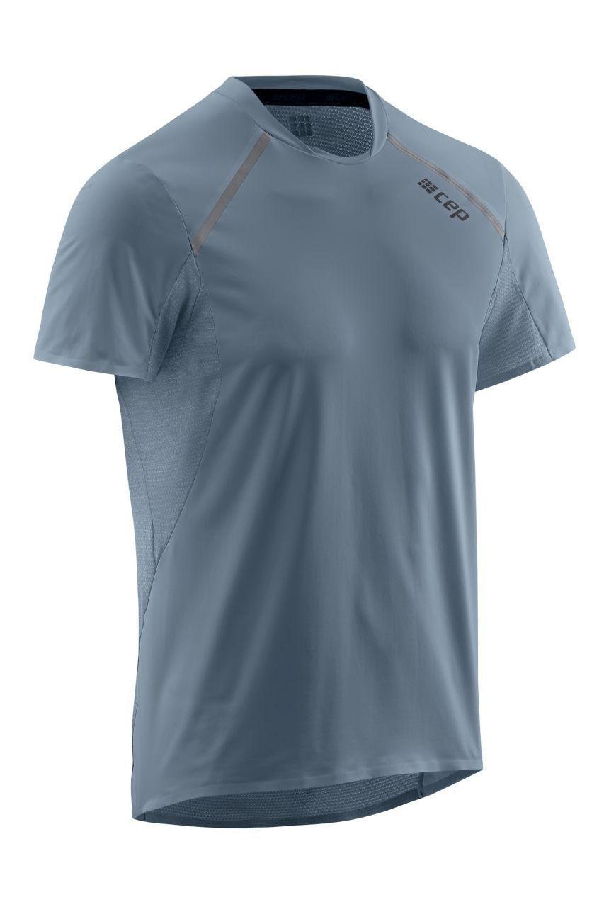 cep Run Shirt Short Sleeve in Grau