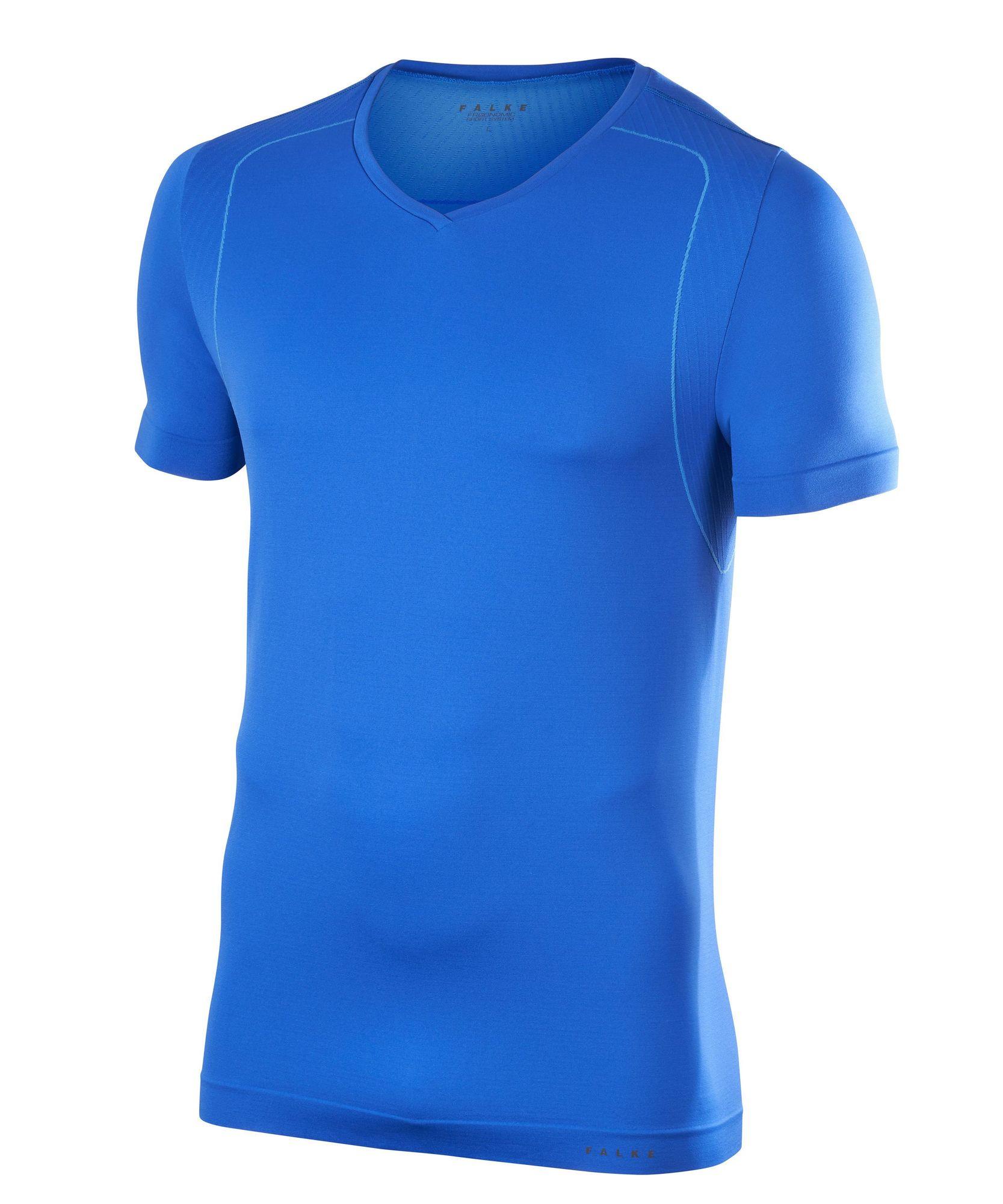 Falke Fitness T-Shirt in Blau