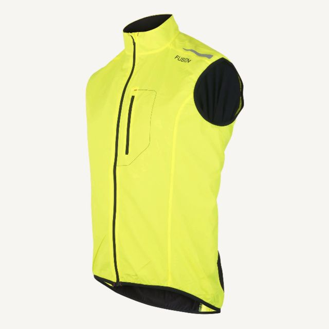 Fusion S1 Run Vest (Yellow Black)
